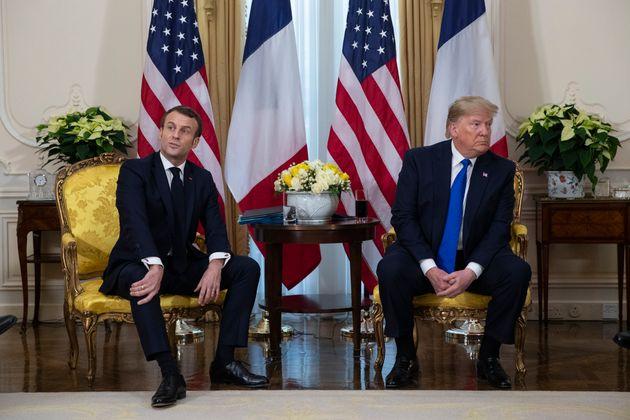Macron aggira l'Ue e sente Trump: