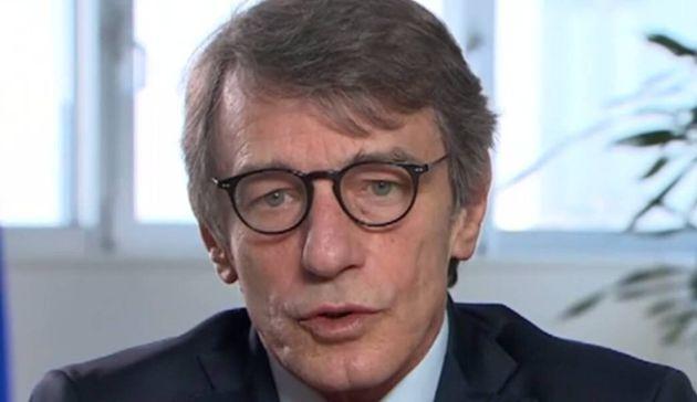 El presidente del Parlamento Europeo, David