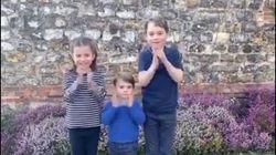 L'applauso di George, Charlotte e Louis per medici e infermieri che combattono il
