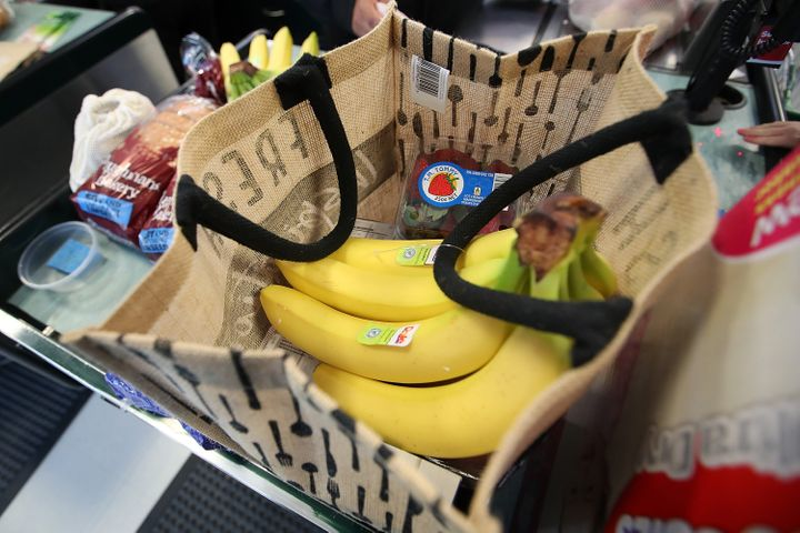 Some states are banning shoppers from bringing reusuable bags to the grocery stores over COVID-19 fears.