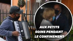 Au Chili, cet accordéoniste redonne le moral à ses parents