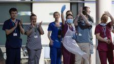 Die Menschen In Europa Sind Vereint Im Angesicht Des Coronavirus: