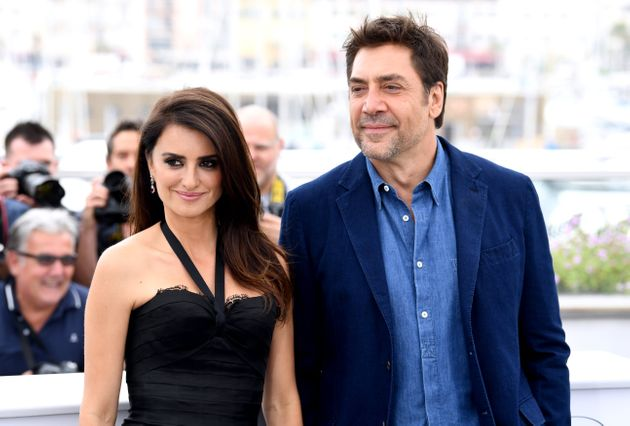 Penélope Cruz y Javier Bardem, en Cannes el 9 de mayo de