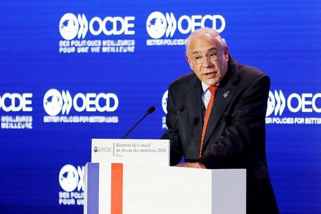 El secretario general de la OCDE, Ángel