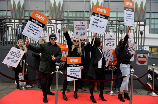 The GMB union holds a