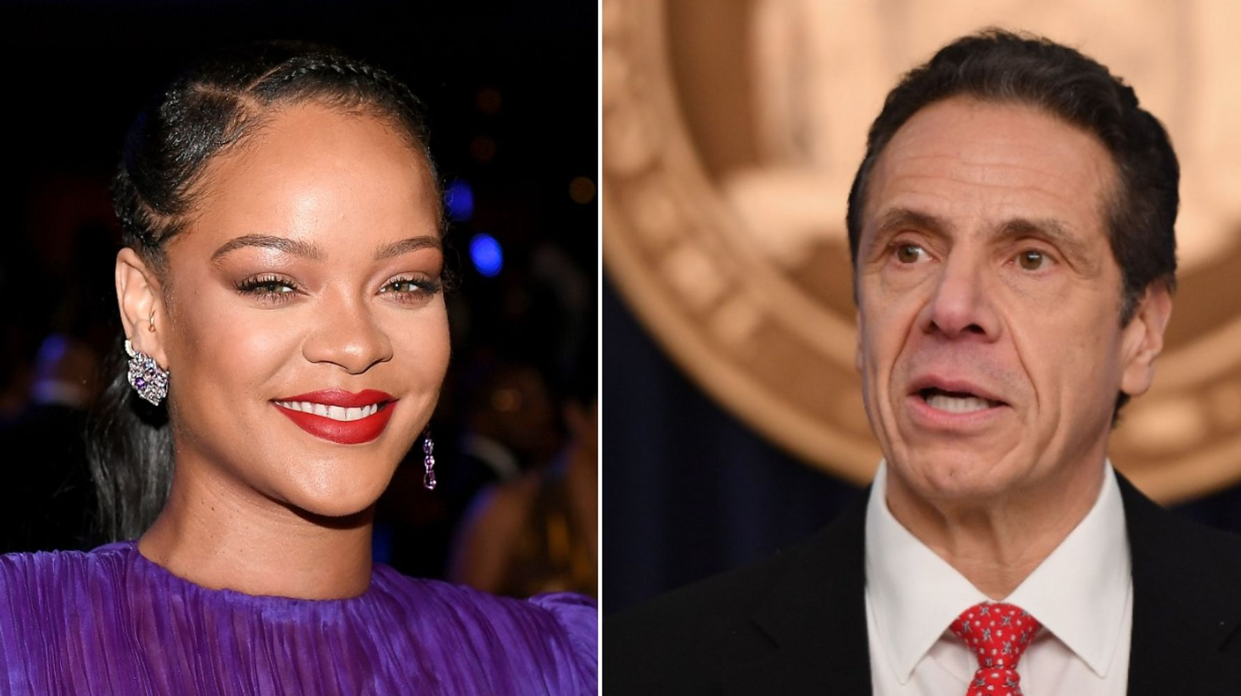 New York Gov. Andrew Cuomo Thanks Rihanna For Donation Of Personal ...