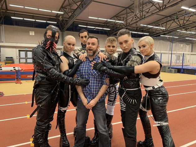 Rob with Iceland's 2019 entrant, the BDSM-inspired anti-capitalist punk group