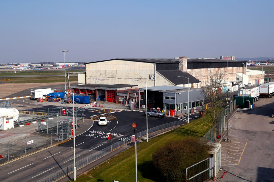 It had previously been suggested that Hangar Two at the airport could become a temporary