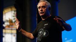 Ferran Adrià describe una de las imágenes del momento en cuatro rotundas