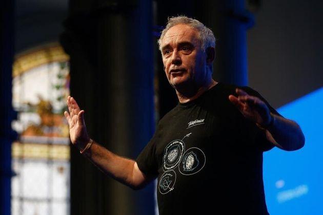 Ferran Adrià, maestro para cocinillas durante el