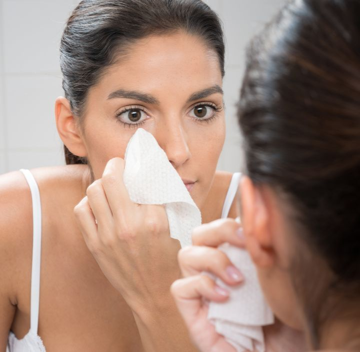 You should cleanse your face again after you use makeup wipes, advised dermatologist Nada Elbuluk.