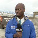 Video Of Reporter's Hilarious Reaction To Approaching Bison Herd Goes
