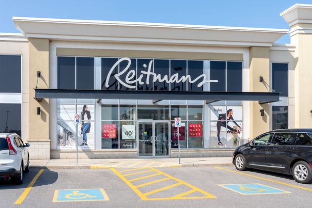 In this file photo, the exterior of a Reitmans store is seen in Oakville, Ont., July 25,