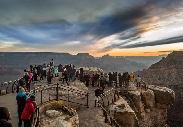 In response to the COVID-19 outbreak, Grand Canyon National Park is waiving entrance fees to protect...