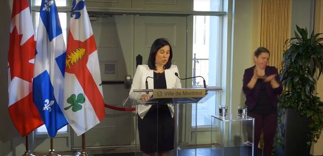 La mairesse Valérie Plante a déclaré l'état d'urgence sur le territoire de la Ville de Montréal,
