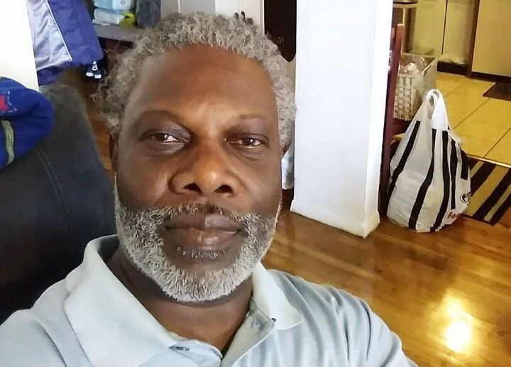 Junior Wilson at his home in 2019.