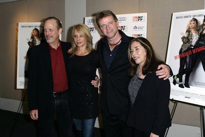 """Mark Blum, Rosanna Arquette, Aidan Quinn and director Susan Seidelman at a 25th-anniversary screening of """"Desperately Seeking"""