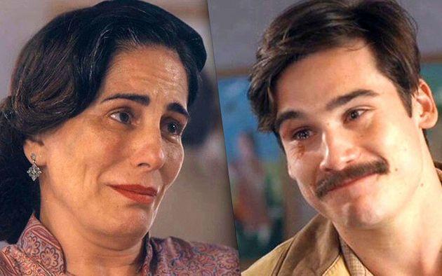 Lola (Glória Pires) e Alfredo (Nicolas Prattes): bem-sucedida parceria em