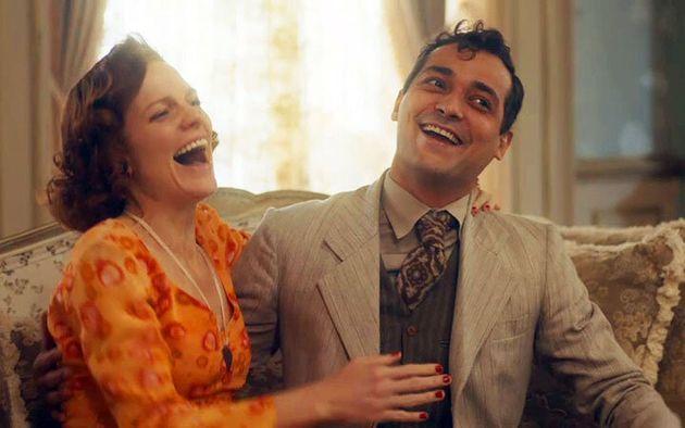 Olga (Maria Eduarda Carvalho) e Zeca (Eduardo Sterblitch): atuações
