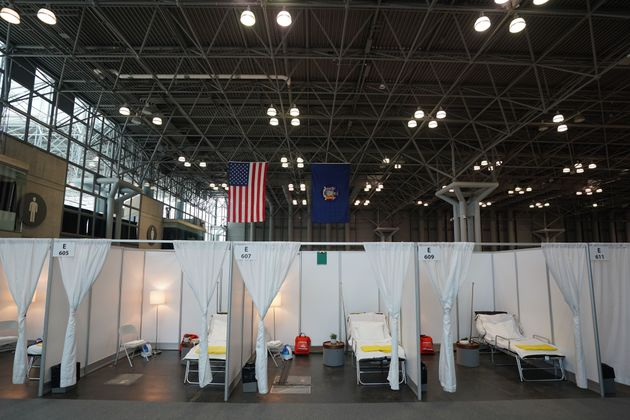 Officials in New York this week transformed the Jacob K. Javits Center in Manhattan into a temporary...