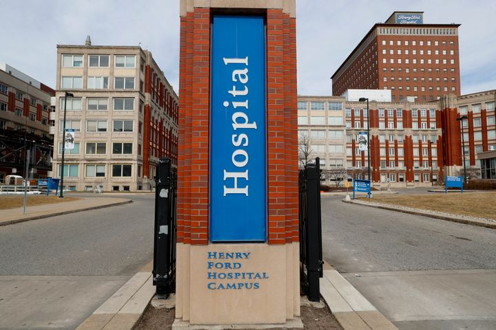 Henry Ford Hospital is among the medical facilities in Detroit bracing for an onslaught of COVID-19 patients.