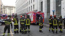 Incendio al Palazzo di Giustizia di Milano: distrutta cancelleria del