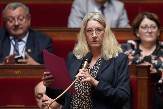 La députée apparentée LREM du Gard, Annie Chapelier, en juin 2019 à