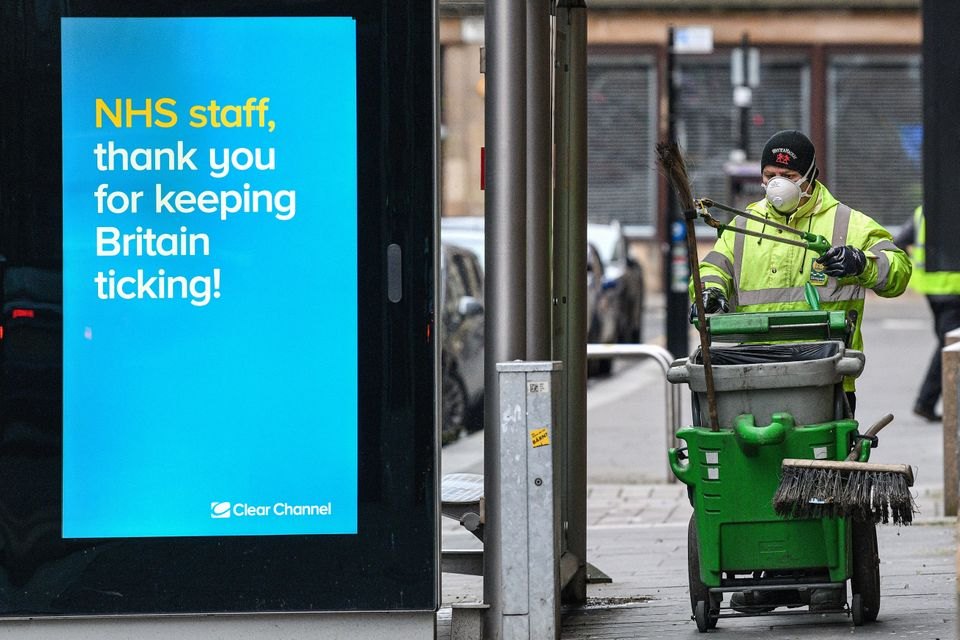 Council workers have been attacked for implementing lockdown measures across the UK.