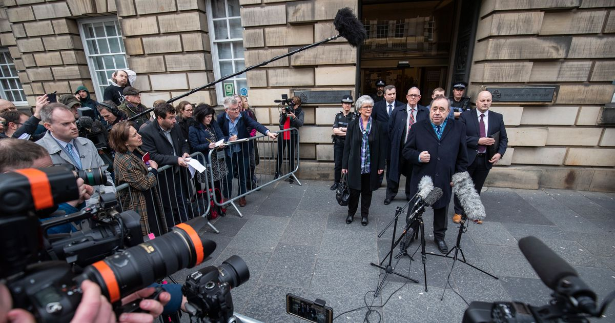 9 Women Who Accused Alex Salmond Of Sexual Offences 'Devastated' By Not-Guilty Verdict