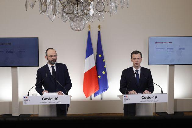 Ce samedi 28 mars, Édouard Philippe et Olivier Véran ont donné un long point presse...