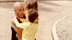 Robbie Williams Reuniting With His Kids After Self-Isolating Is The Pick-Me-Up We All Need Right