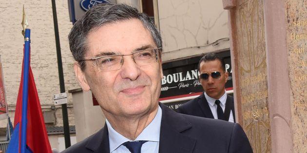 Mort de l'ex-ministre Patrick Devedjian des suites du coronavirus (Photo prise le 23 avril 2019 à...