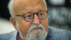 Morto Krzysztof Penderecki, compose musiche di