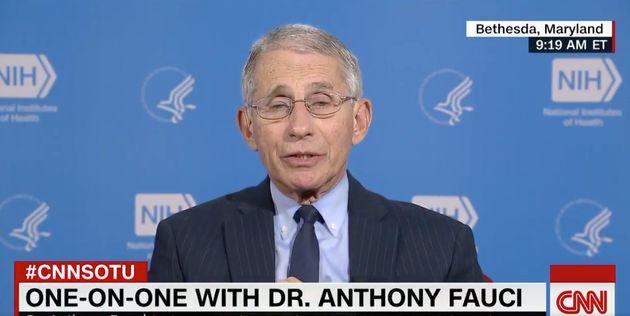 L'immunologue Anthony Fauci est l'homme qui conseille directement Donald Trump sur l'épidémie en cours...