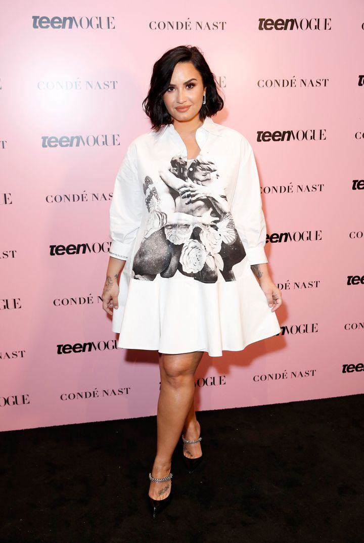 Demi Lovato attends the Teen Vogue Summit in November 2019.