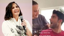Demi Lovato Versehentlich Macht Es Instagram Mit Offiziellen Gemunkelt Neuen Freund