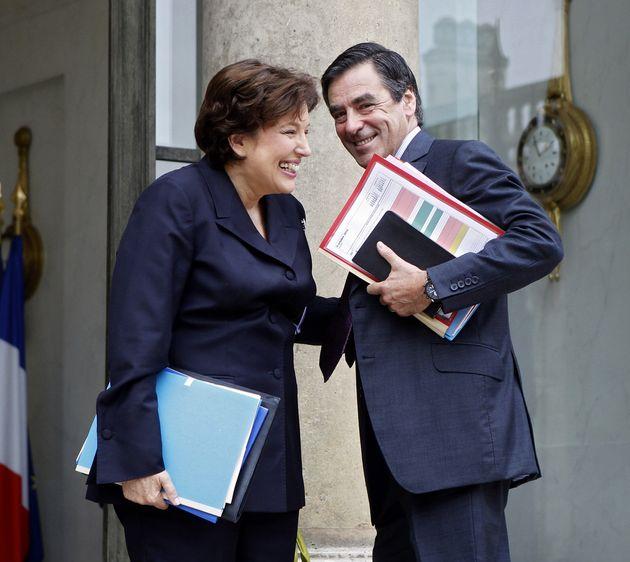 François Fillon ici avec l'ex-ministre de la Santé Roselyne Bachelot à l'Elysée...