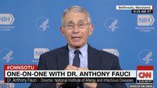 Ο δρ Αντονι ο fauci Προβλέπει Εκατοντάδες Χιλιάδες Των ΗΠΑ Coronavirus Θανάτους