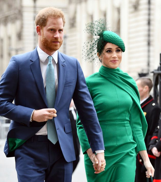 The Duke and Duchess of Sussex attend the Commonwealth Day Service on March 9 at Westminster