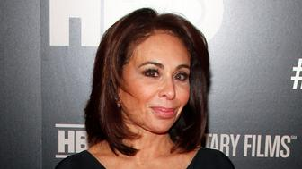 "FILE - In this Jan. 28, 2015 file photo, Jeanine Pirro attends the HBO Documentary Series premiere of ""THE JINX: The Life and Deaths of Robert Durst"" in New York. Pirro, host of the Fox News Channel show ""Justice with Judge Jeanine,"" was issued a speeding ticket for going 119 mph (192 kph) in a 65 mph (105 kph) zone, Sunday, Nov. 19, 2017, in Tioga County, N.Y. Pirro says in a statement through Fox News Channel she had been driving for hours to visit her ailing mother and didn't realize how fast she was going. She says she will ""pay the consequences."" (Photo by Andy Kropa/Invision/AP, File)"