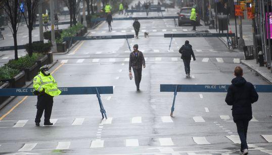 코로나19 : 미국 뉴욕은 지금 9.11 테러 이후 '최악의 위기'