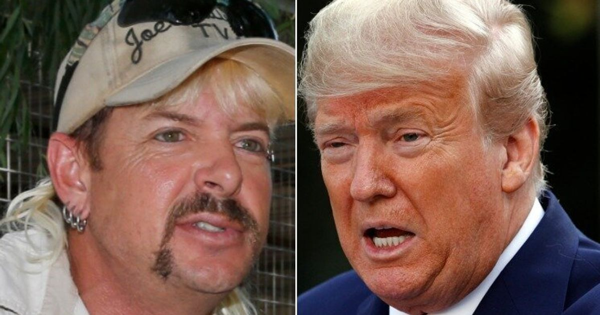 'Last Week Tonight' Issues Brutal 'Correction' Comparing Trump To Joe Exotic