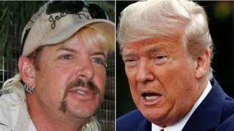 Joe Exotic, Donald Trump