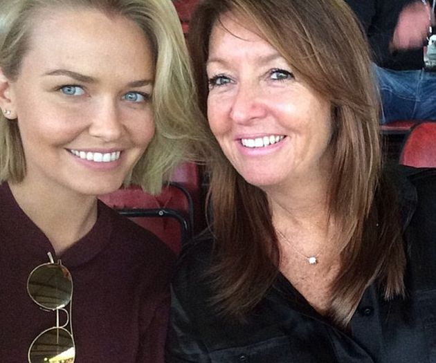 Lara Worthington and mother Sharon