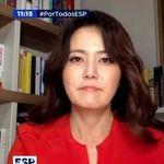 손미나가 스페인 방송서 한국의 신종 코로나 방역에 대해 한