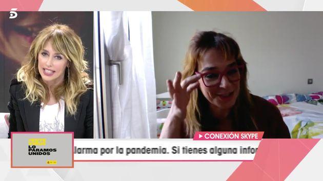 Emma García y Toñi Moreno, en 'Viva la