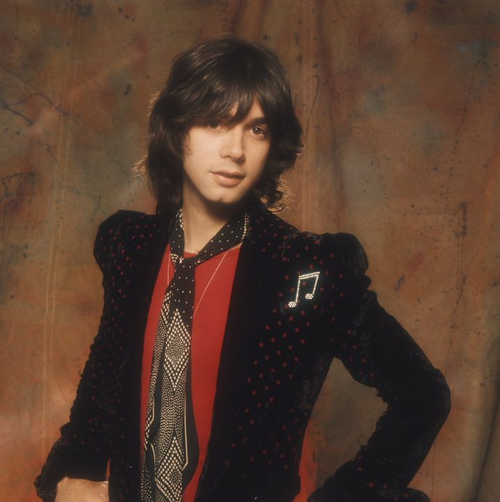 Singer and bassist Alan Merrill of the pop group Arrows in this 1975 file photo.