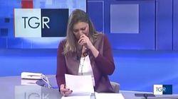 Le lacrime della giornalista del Tgr all'annuncio della morte del piccolo Diego di 3