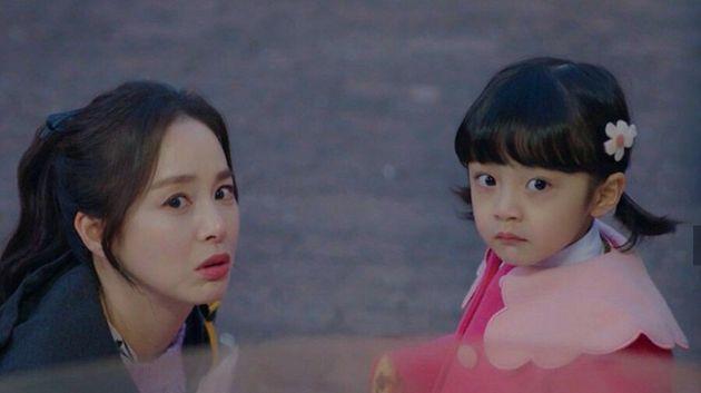 극 중 김태희 딸 조서우 역으로 출연 중인 아역배우