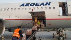 Έφτασε τα ξημερώματα νέα πτήση από την Κίνα με υγειονομικό